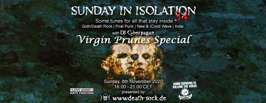 08.11.2020: Sunday in Isolation #34 Livestream