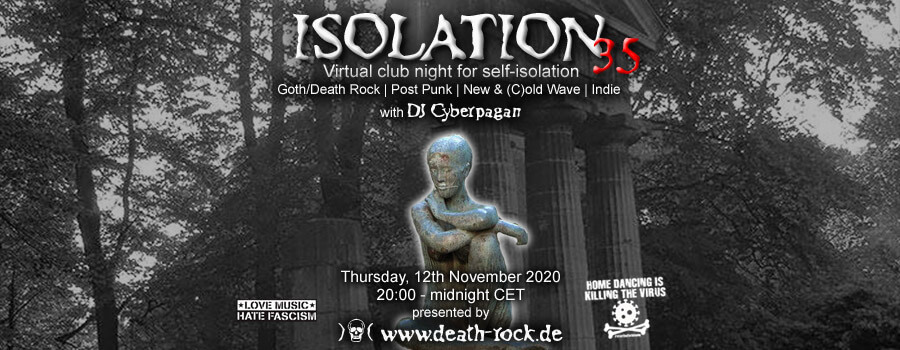 12.11.2020: Isolation #35 Livestream