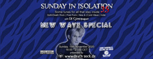 15.11.2020: Sunday in Isolation #35 Livestream
