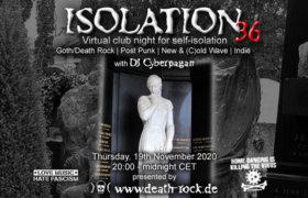 19.11.2020: Isolation #36 Livestream