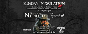 22.11.2020: Sunday in Isolation #36 Livestream