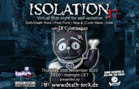26.11.2020: Isolation #37 Livestream