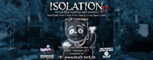 26.11.2020: Isolation #37 Livestream