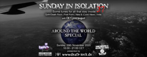 29.11.2020: Sunday in Isolation #37 Livestream