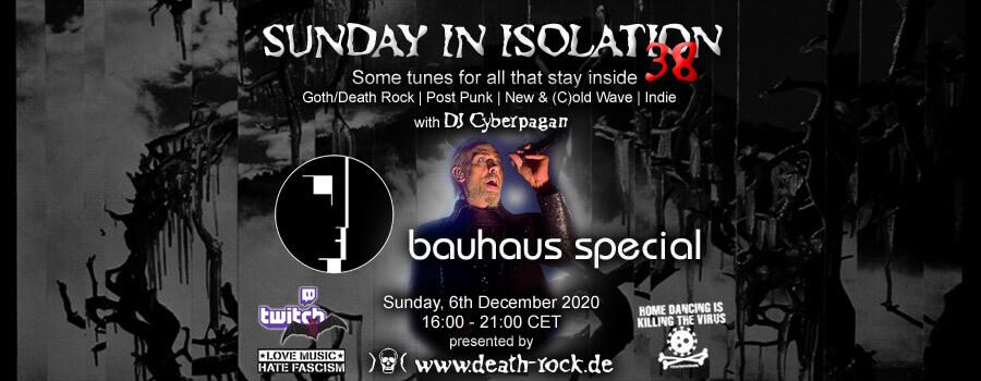 06.12.2020: Sunday in Isolation #38 Livestream