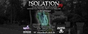10.12.2020: Isolation #39 Livestream