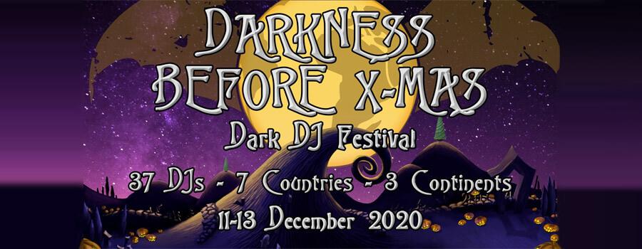 11.-13.12.2020: Darkness Before X-mas Livestream