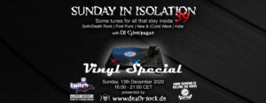 13.12.2020: Sunday in Isolation #39 Livestream