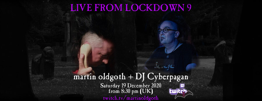 19.12.2020: Live from Lockdown 9 Livestream