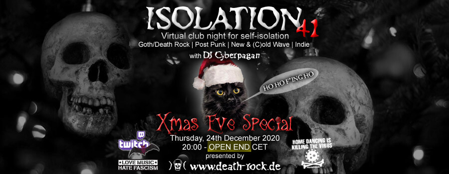 24.12.2020: Isolation #41 Livestream