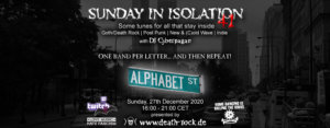 27.12.2020: Sunday in Isolation #41 Livestream