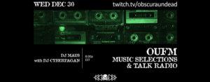 30.12.2020: Obscura Undead Radio Livestream