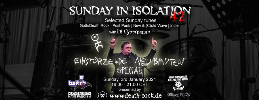 03.01.2021: Sunday in Isolation #42 Livestream