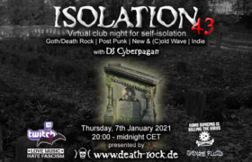 07.01.2021: Isolation #43 Livestream