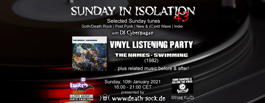 10.01.2021: Sunday in Isolation #43 Livestream