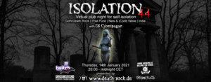 14.01.2021: Isolation #44 Livestream