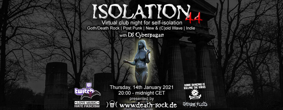 14.01.2021: Isolation #44 Livestream