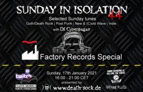 17.01.2021: Sunday in Isolation #44 Livestream