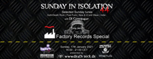 17.01.2021: Sunday in Isolation #44 Livestream