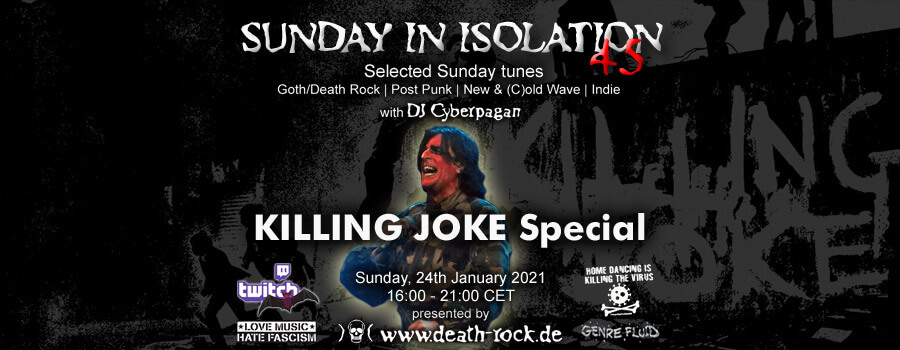 24.01.2021: Sunday in Isolation #45 Livestream