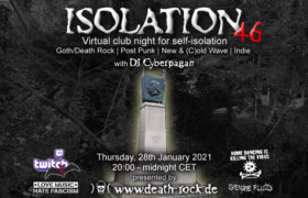 28.01.2021: Isolation #46 Livestream