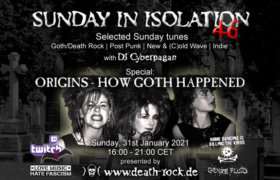 31.01.2021: Sunday in Isolation #46 Livestream