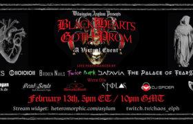 13.02.2021: Black Hearts Goth Prom Livestream
