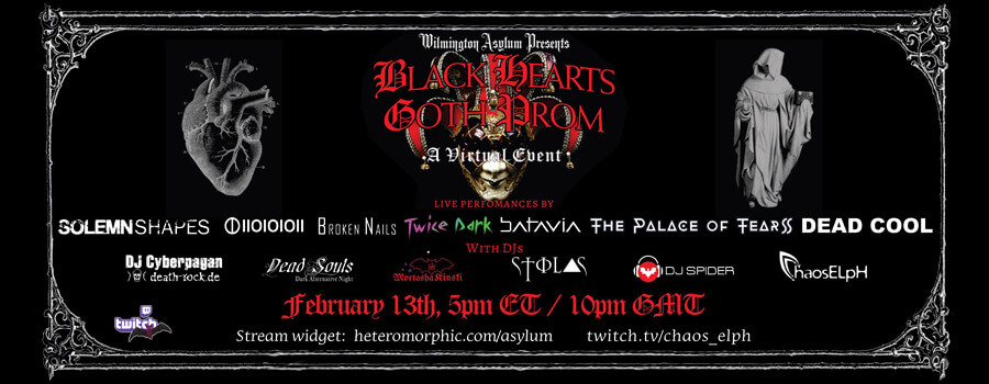 13.02.2021: Black Hearts Goth Prom Livestream
