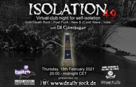 18.02.2021: Isolation #49 Livestream