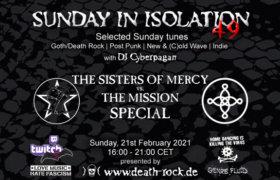 21.02.2021: Sunday in Isolation #49 Livestream