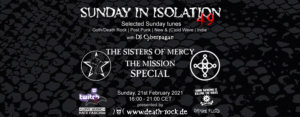21.02.2021: Sunday in Isolation #49 Livestream