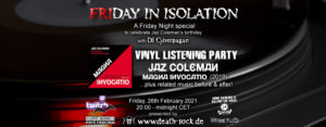 26.02.2021: FRIday in Isolation Livestream