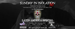 28.02.2021: Sunday in Isolation #50 Livestream