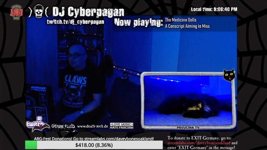DJ Cyberpagan @ ARG-FEST 2021- 1