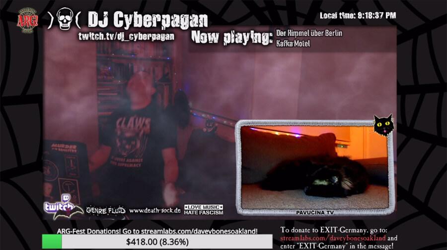 DJ Cyberpagan @ ARG-FEST 2021- 2