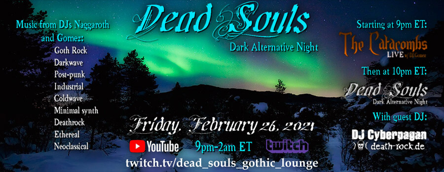 27.02.2021: Dead Souls Gothic Lounge Livestream