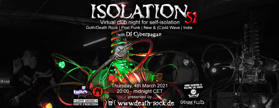 04.03.2021: Isolation #51 Livestream