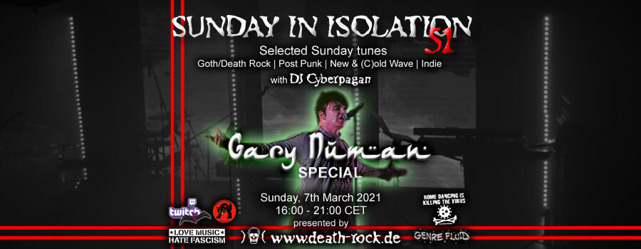 07.03.2021: Sunday in Isolation #51Livestream