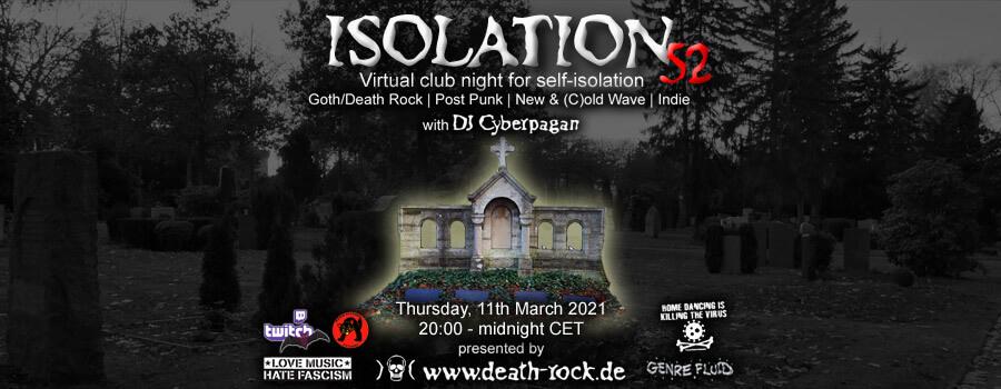 11.03.2021: Isolation #52 Livestream