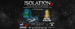 18.03.2021: Isolation #53 Livestream
