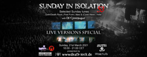 21.03.2021: Sunday in Isolation #53 Livestream