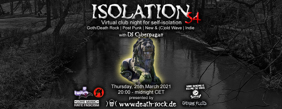 25.03.2021: Isolation #54 Livestream