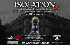 08.04.2021: Isolation #56 Livestream