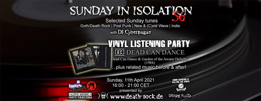 11.04.2021: Sunday in Isolation #56 Livestream