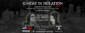18.04.2021: Sunday in Isolation #57 Livestream