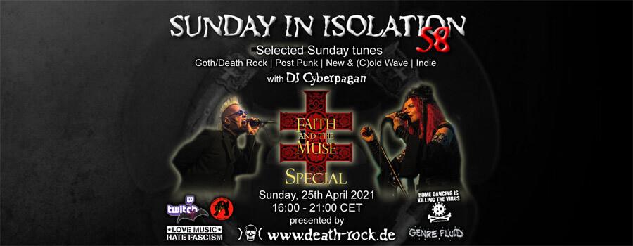 25.04.2021: Sunday in Isolation #58 Livestream