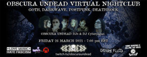 26.03.2021: Obscura Undead OUVC Livestream