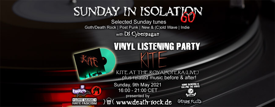 09.05.2021: Sunday in Isolation #60 Livestream