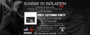 16.05.2021: Sunday in Isolation #61 Livestream