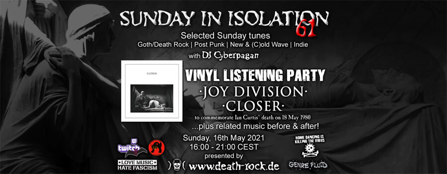 16.05.2021: Sunday in Isolation #61 Livestream